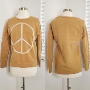 •TORN BY RONNY KOBO• Jovia Peace Wool Sweater.